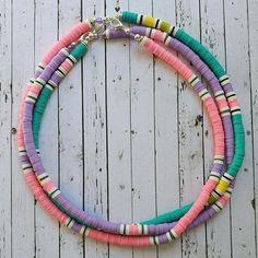 Bead Jewellery, Beaded Jewelry, Handmade Jewelry, Beaded Bracelets, Homemade Bracelets, Diy Bracelets Easy, Surf Necklace, Diy Necklace, Mundo Hippie