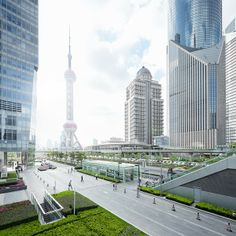 Shanghai cityscapes | Inspirations Area