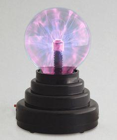 Lightning Plasma Ball lamp, ideas for Summer Reading 2014, Science