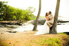 Hawaii wedding at A-Bay on the West Coast of the Big Island of Hawaii.  www.eyeexpression.com