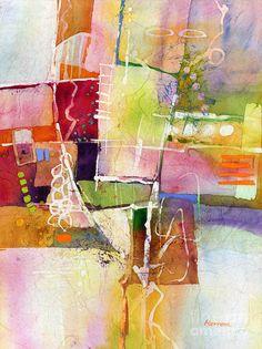 Crossroads Painting by Hailey E Herrera