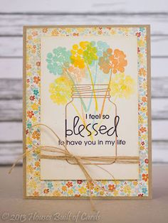 Card by PS GDT Heather H. using the PS Crystal Clear and Spiritual Sampler stamp sets