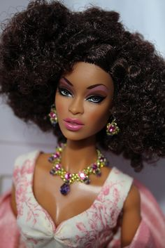 This doll's hair is fly
