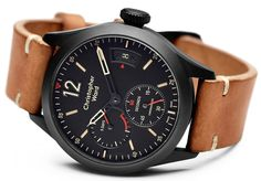 """Christopher Ward C8 Power Reserve Chronometer Watch - by Jack Wagner - Learn more about the newest from Christopher Ward now at: aBlogtoWatch.com - """"The folks over at Christopher Ward sure have been keeping busy. Among a number of recent releases such as the C8 UTC Worldtimer is this Christopher Ward C8 Power Reserve Chronometer with a 120-hour (or 5-day) power reserve built on the company's in-house, COSC Chronometer-certified caliber SH21..."""""""