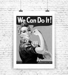 """""""We can do it"""" Kunstdruck  von MilaLu auf DaWanda.com"""