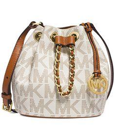 MICHAEL Michael Kors Frankie Drawstring Crossbody - MICHAEL Michael Kors - Handbags & Accessories - Macy's