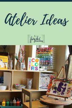 Atelier Ideas | Fairy Dust Teaching | Reggio Inspired Ideas | Preschool Art