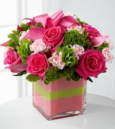 The FTD® Blushing Invitations™ Bouquet - VASE INCLUDED