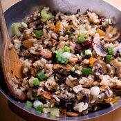 Wild Rice and Mushroom Pilaf Recipe