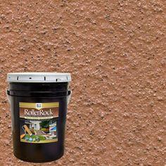 Self-Priming Cinnamon Exterior Concrete Coating 5 gal. Self-Priming Cinnamon Exterior Concrete Coating Concrete Porch, Concrete Bricks, Concrete Floors, Paint Concrete, Grey Exterior, Interior Exterior, Exterior Paint, Porch And Patio Paint, Interiors