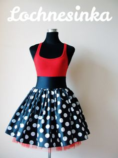Sukýnka NESSIE DOT kolová no.15 Skater Skirt, Dots, Summer Dresses, Skirts, Fashion, Stitches, Moda, Summer Sundresses, Skirt