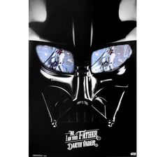 Star Wars Poster Darth Vader No, I am your Father. Hier bei www.closeup.de