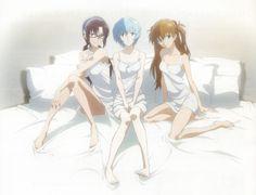 """Difícil escolher... Mesmo a Mari sendo """"lérbica"""" Neon Genesis Evangelion, Anime Art Girl, Manga Girl, Good Anime Series, Rei Ayanami, Mecha Anime, Animes Wallpapers, Anime Comics, Kawaii Anime"""