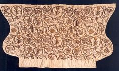 Shakespeare's World in 100 Objects: Number 48, a blackwork coif ...