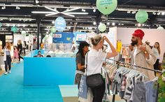 Playtime Paris, summer 2016. #fashion #clothing #kids #tradeshow