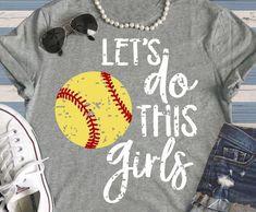 Items similar to Softball Shirt - Softball Mom - Sports Mom - Mom of Girls - Softball on Etsy Softball Mom Shirts, Softball Cheers, Softball Crafts, Softball Bows, Girls Softball, Baseball Mom, Softball Coach, Softball Stuff, Sports Shirts