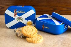 Saltire Shortbread Tin