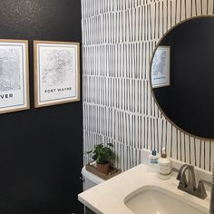Modern Hand Drawn Black Lines Wallpaper // Sophisticated Peel and Stick Wallpaper // Self-Adhesive Reusable Wall Mural Accent Wallpaper, Powder Room Wallpaper, Lines Wallpaper, Bathroom Wallpaper, Modern Wallpaper, Peel And Stick Wallpaper, Painted Wallpaper, Wallpaper Designs, Black Accent Walls