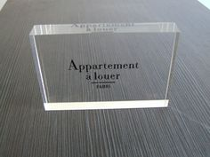 acrylic number blocks - Google Search