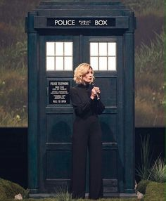 Jodie Whittaker and the TARDIS