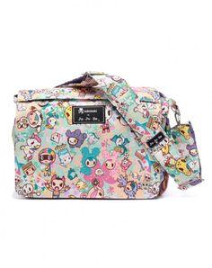 tokidoki x Ju.Ju.Be Better Be Diaper/Shoulder Bag Perky Toki