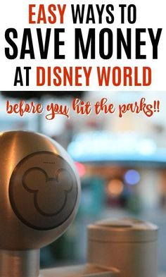 We all want to save money on Disney World vacations, right? Here's seven super easy ways to save money at Disney World before you even hit the parks! Disney Money, Disney On A Budget, Disney Vacation Planning, Disney World Planning, Trip Planning, Vacation Planner, Vacation Ideas, Disney World Honeymoon, Walt Disney World Vacations