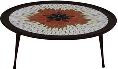 1960s Italian Mosaic Coffee Table on Chairish.com
