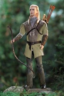Ken® Doll as Legolas in The Lord of the Rings: The Fellowship of the Rings  |   Hollywood Dolls - View Hollywood Barbie & Celebrity Dolls | Barbie Collector