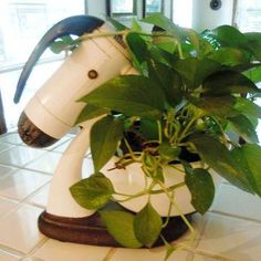 Flea Market Gardening vintage appliance