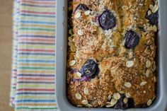 Blueberries Bread con cocco e yogurt greco (Blueberries Bread with coconut and Greek yogurt) – DoubleKitchen