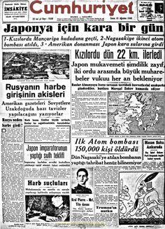 cumhuriyet gazetesi 10 ağustos 1945