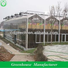 glass commercial greenhouse