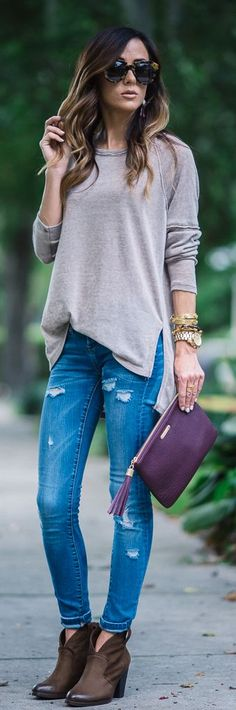 Fall Colors Combo Outfit Idea by Sequins & Things
