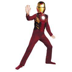 Boys Iron Man Mark 7 Avengers Halloween Costume - Kmart