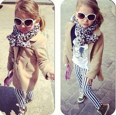 Hipster children.