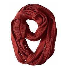 Smartwool Lightweight Pointelle Scarf ($45) ❤ liked on Polyvore featuring accessories, scarves, moab rust, summer scarves, circle scarves, tube scarves, lightweight infinity scarves and light weight scarves