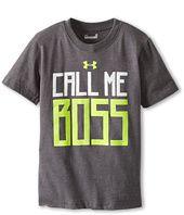 Under Armour Kids - Call Me Boss Tee (Toddler/Little Kids/Big Kids)