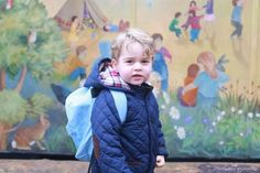 Prince George starts nursery - pictures