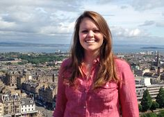 AU senior Ali Kardatzke explores Scotland.