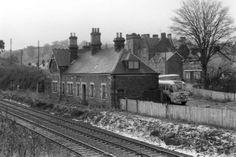 Glenfarg, old train station. Edinburgh - Perth railway.
