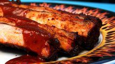 Spareribs fra Norges grill-landslag Spare Ribs, Barbecue, Steak, Grilling, Pork, Kale Stir Fry, Pork Ribs, Barrel Smoker, Ribs