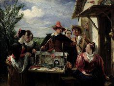 Autolycus, scene from 'A Winter's Tale', 1836 by Charles Robert Leslie Fruit Flowers, Web Gallery, Virtual Museum, Winter's Tale, Arabian Nights, Renoir, Art History, Bing Images, Scene