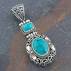 @Overstock - Show off your unique style with this beautifully crafted 'Cawi Motif' pendantPendant made of pure .925 sterling silver and turquoise  Jewelry is designed and handcrafted by talented artisans from Indonesiahttp://www.overstock.com/Worldstock-Fair-Trade/Silver-Cawi-Motif-Turquoise-Pendant-Indonesia/3364886/product.html?CID=214117 $69.99