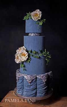 I'm so excited to finally be able to share this cake! I was honored to be invited by Laura Loukaides to create a cake and tutorial for Cake Masters Magazine for the June Wedding Cakes issue! I created a realistic velvet texture and am thrilled to...