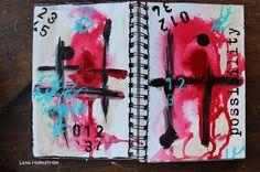 Art Journal Class with Limor Webber