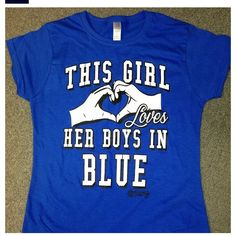 "Dodgers ""This girl loves her boys in blue"" Tshirt"
