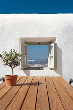 Window in Santorini