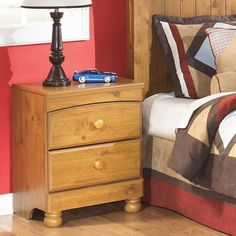 Kids Bedroom: 2 Drawer Stages Nightstand by Ashley Furniture at Kensington Furniture