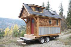 | Acorn House | A nice residence on wheels built by Nelson Tiny Houses