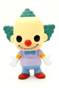 The Simpsons Pop! Krusty The Clown Figure | Hot Topic